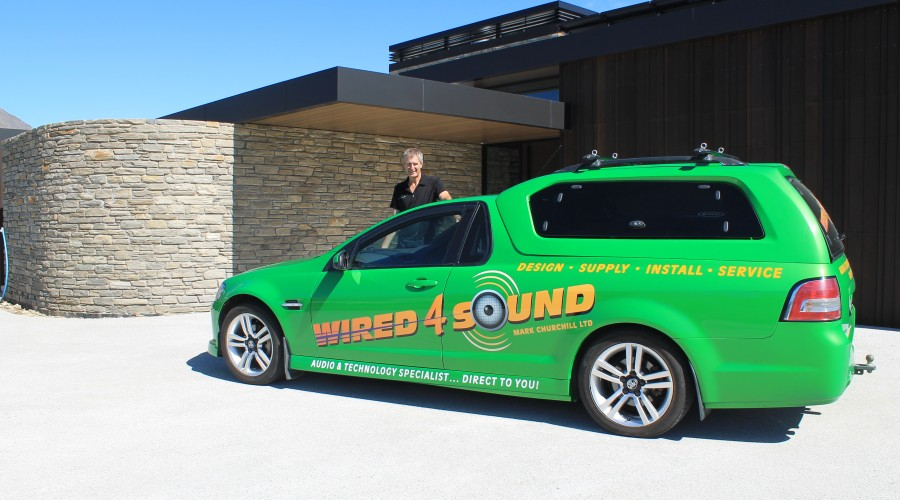 Mark and the wired 4 sound ute